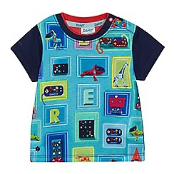 Baker by Ted Baker - 'Baby boys' multi-coloured print t-shirt