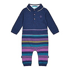 7b6eb029437f7 Baker by Ted Baker - Baby boys  multicoloured striped print romper suit