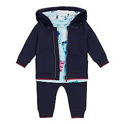 Baker by Ted Baker - Baby Boys' Multicoloured Jacket, T-shirt and Trousers Set