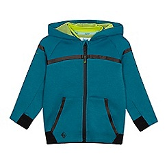 Baker by Ted Baker - Boys' green panel hoodie