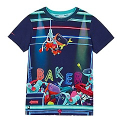 Baker by Ted Baker - 'Boys' multi-coloured toy grabber print t-shirt