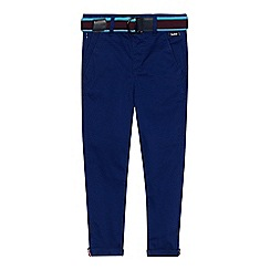 Baker by Ted Baker - Boys' bright blue printed chinos