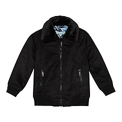 Baker by Ted Baker - Boys' black aviator jacket