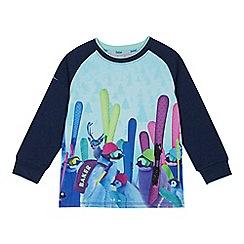 Baker by Ted Baker - Boys' multicoloured penguin print T-shirt