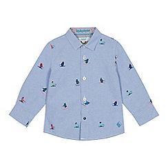 1526e5e94 Baker by Ted Baker - Boys  Multicoloured Penguin Print Long Sleeve Shirt