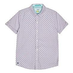 Baker by Ted Baker - 'Boys' blue printed shirt