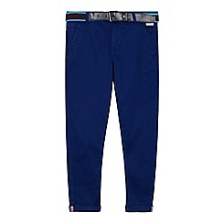 Baker by Ted Baker - Boys' blue printed chinos