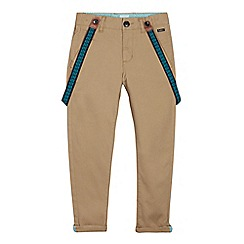 Baker by Ted Baker - Boys' Camel Chinos with Braces