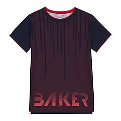Baker by Ted Baker - Boys' red spotted print t-shirt