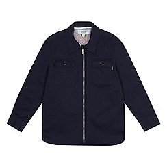 Baker by Ted Baker - Boys' navy brushed twill shacket