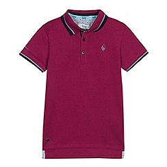 Baker by Ted Baker - Boys' Pink Polo Shirt
