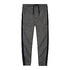 Baker by Ted Baker - Boys' Dark Grey Panelled Jersey Chinos
