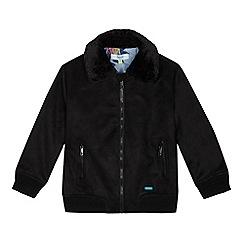 Baker by Ted Baker - Boys' black aviator jacket