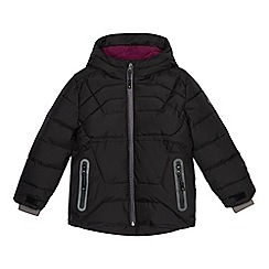 Baker by Ted Baker - Boys' black padded showerproof coat