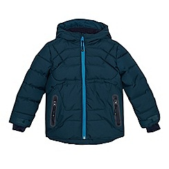 Baker by Ted Baker - Boys' dark green padded showerproof parka