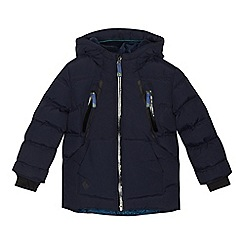 Baker by Ted Baker - Boys' navy showerproof coat