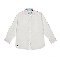 Baker by Ted Baker - 'Boys' white textured shirt