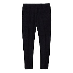 Baker by Ted Baker - Boys' blue textured trousers