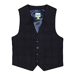 Baker by Ted Baker - Boys' Navy stain resistant waistcoat