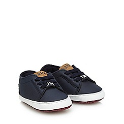 Baker by Ted Baker - Baby boys' navy 'King' trainers