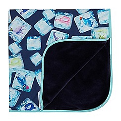 4d8349ace84116 Baker by Ted Baker - Baby boys  navy ice cube print blanket