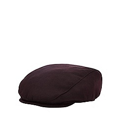 Baker by Ted Baker - Baby Boys  Wine Red Flat Cap d61c9279df71