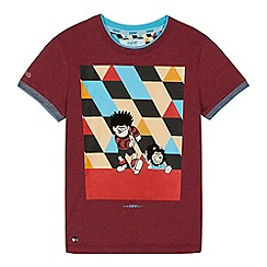Baker by Ted Baker - Boys' multi-coloured 'Beano' print t-shirt