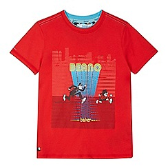 Baker by Ted Baker - Boys' red 'Beano' print t-shirt