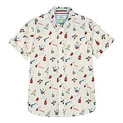 Baker by Ted Baker - Boys' multi-coloured 'Beano' print short sleeve shirt