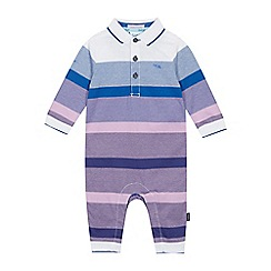 Baker by Ted Baker - Baby Boys' Multicoloured Striped Romper Suit