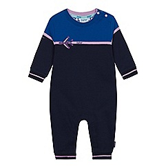 844d9eb119bb Baker by Ted Baker - Baby Boys  Bright Blue Aeroplane Applique Romper Suit
