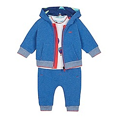 Baker by Ted Baker - Baby Boys' Multicoloured Sweater, Top and Jogging Bottoms Set