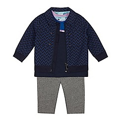 Baker by Ted Baker - Baby Boys' Multicoloured T-Shirt, Jacket and Trouser Set