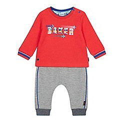 Baker by Ted Baker - Baby Boys' Multicoloured Logo Top and Bottoms Set