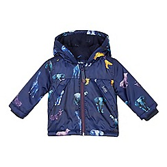 Baker by Ted Baker - Baby Boys' Navy Safari Print Jacket