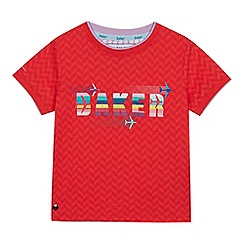 Baker by Ted Baker - Boys' Red Logo Print T-shirt
