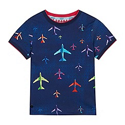 Baker by Ted Baker - Boys' Navy Aeroplane Print T-shirt
