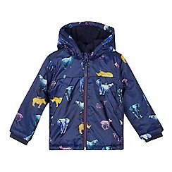 Baker by Ted Baker - Boys' Navy Safari Print Jacket