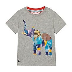 Baker by Ted Baker - Boys' Grey Elephant T-Shirt