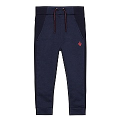 Baker by Ted Baker - Boys' Navy Jersey Chino Jogging Bottoms
