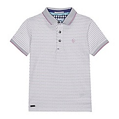Baker by Ted Baker - Boys' White Spotted Polo Shirt
