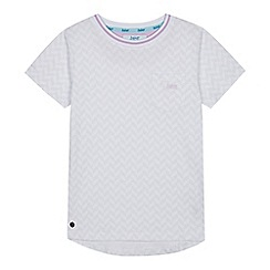 3687e51244a979 Baker by Ted Baker - Boys  White Logo Print T-Shirt