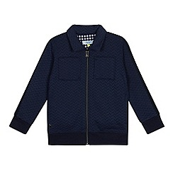 Baker by Ted Baker - Boys' Navy Herringbone Sweater