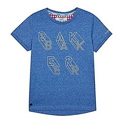 Baker by Ted Baker - Boys' Blue Logo Print T-shirt
