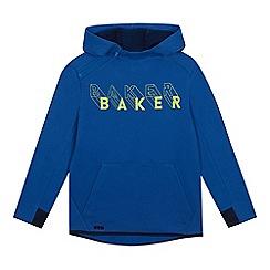 Baker by Ted Baker - Kids' Blue Logo Print Hoodie
