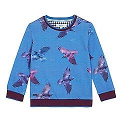 Baker by Ted Baker - Boys' Blue Bird Print Sweatshirt