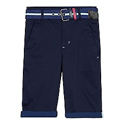 Baker by Ted Baker - Boys' blue jacquard chinos