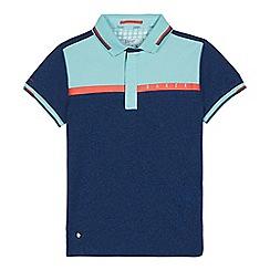 Baker by Ted Baker - Boys' Multicoloured Colour Block Polo Shirt