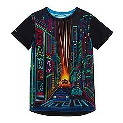 Baker by Ted Baker - Boys' Multicoloured City Print T-Shirt