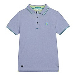 Baker by Ted Baker - Boys' Blue Oxford Polo Shirt